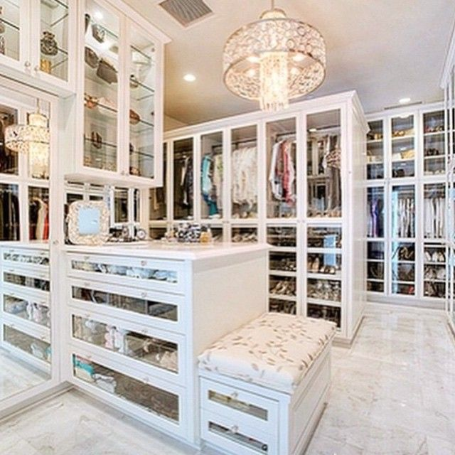 Amazing Modern Walk In Closets Closet Goals This Walk In Is Life YASS Loveit Glamlife