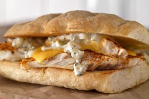 Smoked Tilapia Sandwich Recipe - Kraft Recipes - This looks like a really good sandwich. Might have to get some Jimmy Johns french bread if I'm going to make this... ;) Fish, dill