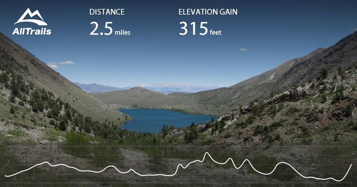 Convict Lake Loop Trail is a 2.5 mile heavily trafficked loop trail located near Mammoth Lakes, California and is good for all skill levels. The trail is primarily used for hiking, walking, and fishing and is best used from June until November. Dogs are also able to use this trail.