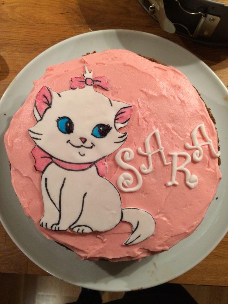 Kake Marie kattekake aristokattene aristocats Disney disneycake catcake