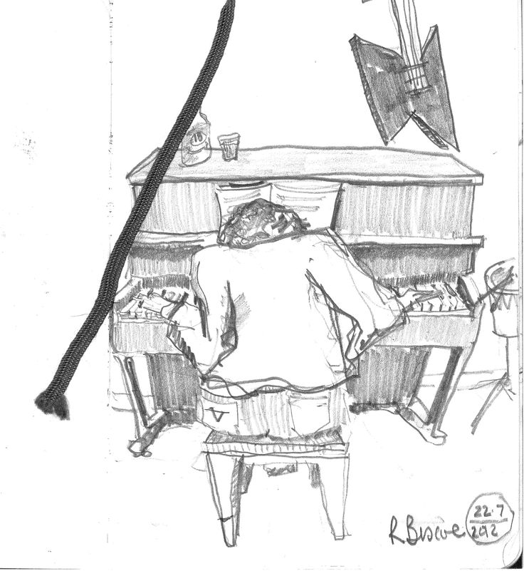 Piano Man - Daniel