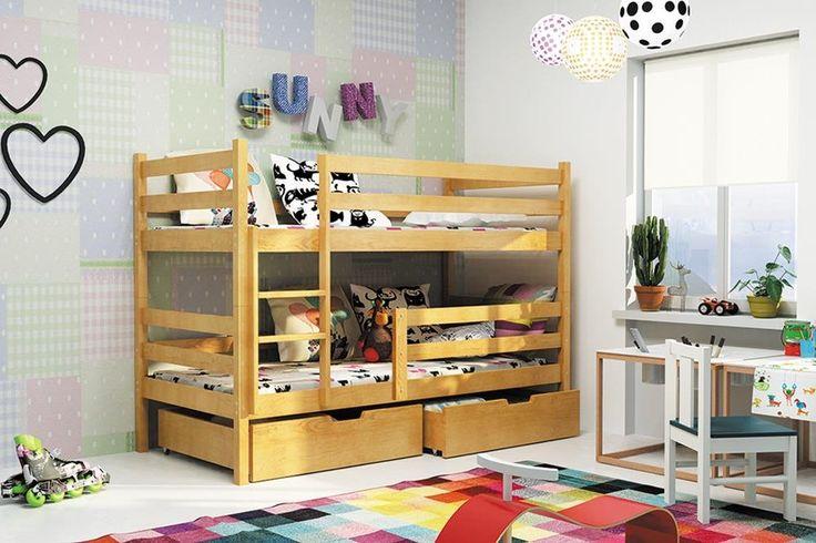 Máte-li více dětí a potřebujete v dětském pokoji šetřit prostor, jsou pro vás ideální volbou dětské patrové postele.