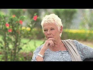 The Second Best Exotic Marigold Hotel: Judi Dench Interview --  -- http://www.movieweb.com/movie/the-second-best-exotic-marigold-hotel/judi-dench-interview