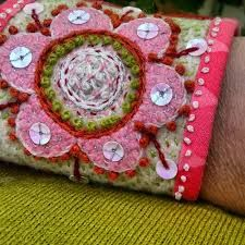 Image result for broderat armband
