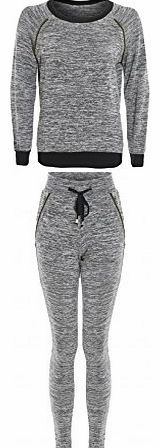 Juliets Kiss Womens Grey Marl Studded Jumper / Jogger Tracksuit Set Ladies Stay comfortable and on trend in our cool tracksuit two piece sets. These are a slub thin knit material which makes these ultra-soft and wearable, and have a space dye ma (Barcode EAN = 0707571173057) http://www.comparestoreprices.co.uk/body-jewellery/juliets-kiss-womens-grey-marl-studded-jumper--jogger-tracksuit-set-ladies.asp