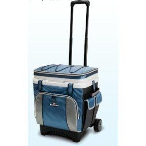 36 can cool fusion maxcold soft top rolling cooler at