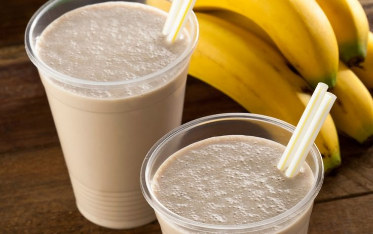 Pick yourself up after a long, tiring day with this creamy smoothie.
