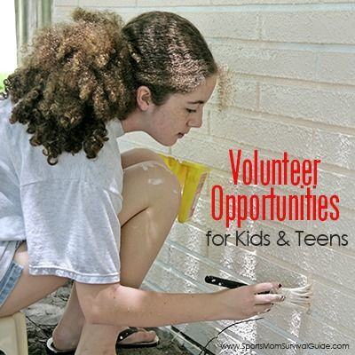 Teach your kids the gift of service. Find volunteer opportunities for kids and teens of all ages! Perfect for summer!
