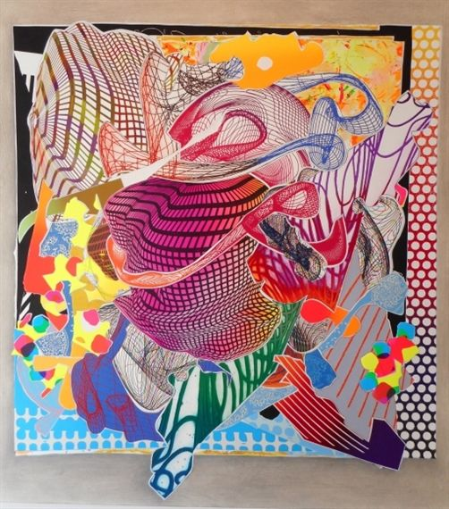 Frank Stella: Imaginary Places - Anders Wahlstedt Fine Art