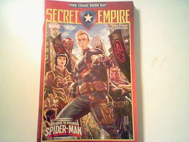 Secret Empire 2017 FCBD Free Comic Book Day unstamped,SJW, Suitable for burning