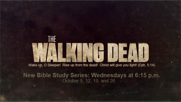 The Walking Dead: Youth Bible Study