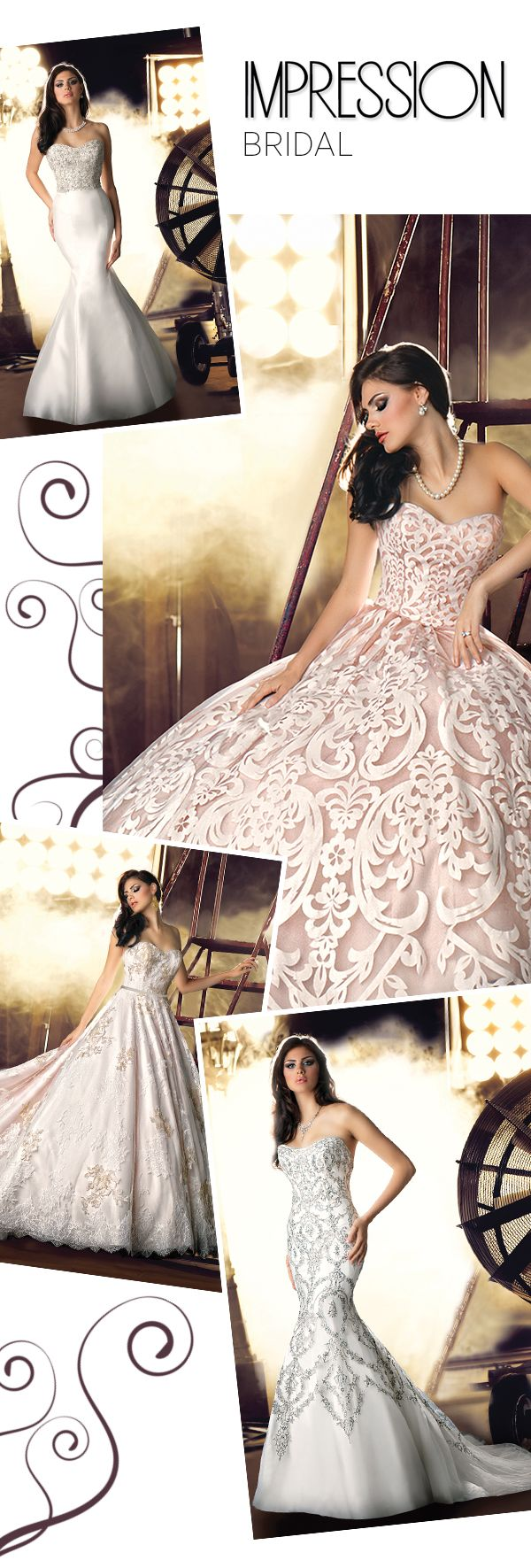 Impression Bridal Spring 2014 via OnceWed