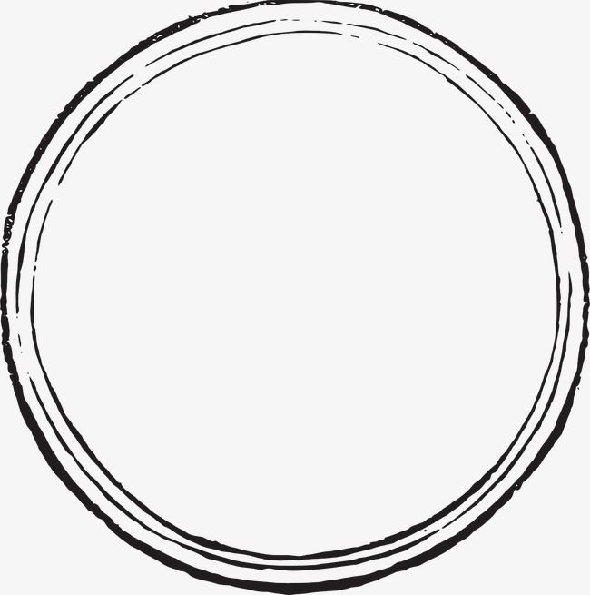 Black And White Circle Png And Clipart Circle Clipart Shape Tattoo Circle