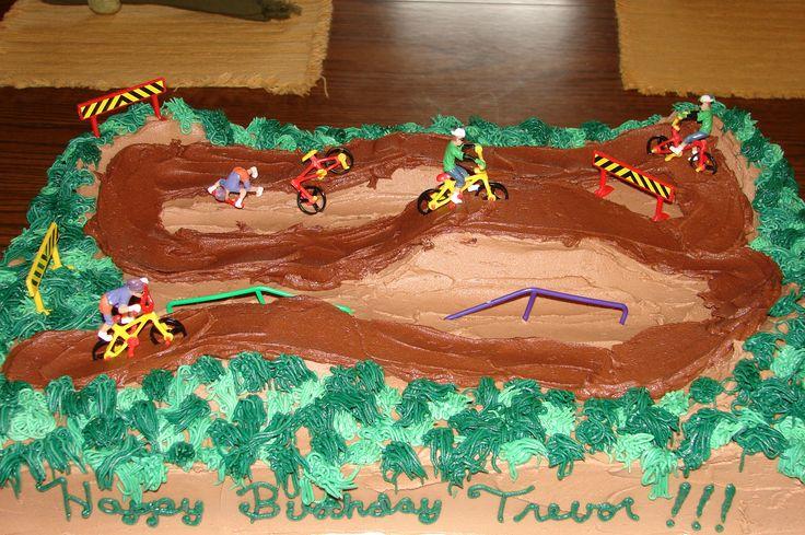 Bmx Birthday Cake Jake S Birthday Wishes Pinterest