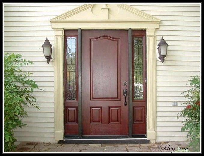13 best Front Doors With Sidelights images on Pinterest ...