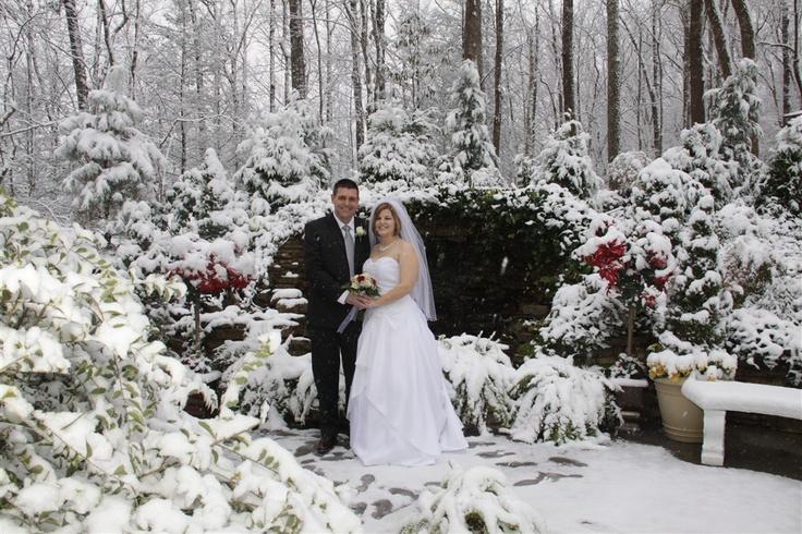 Smoky Mountain Winter Wedding ♥