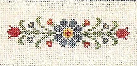 Volkskunst-Handtücher für Küche und Bad kartiert Designs von Harriette Tew gezählt Cross Stitch