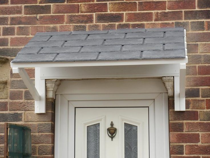 17 Best Images About Front Door Canopy On Pinterest