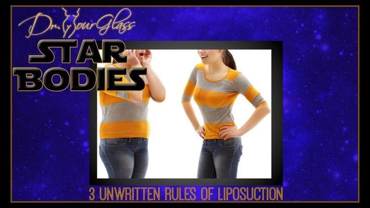 3 Unwritten rules of liposuction? Dr.Hourglass Houston Plastic Surgeon Tel.(713)636-2729 www.drhourglass.com
