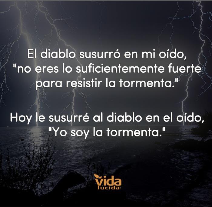 Soy la tormenta !!!
