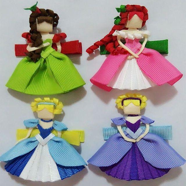 Envío Gratis 20 unids princesa Accesorios Para el Cabello Chica Escultura Cinta Boutique Arcos Del Pelo Clips Del Arco Del Pelo, Barrattes