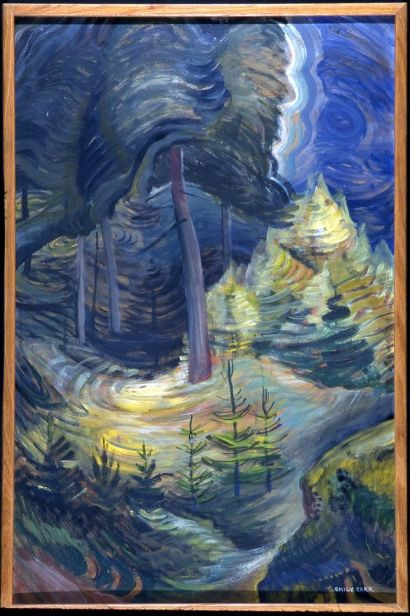 Emily Carr's BC Forest, 1939, Art Gallery of Greater Victoria