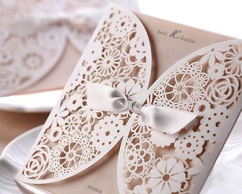 結婚式招待状(印刷込み) ブルーミングD メイン画像