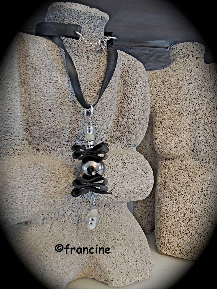 FRANCINE BRICOLE : Colliers,  boucles d'oreilles, bracelets en chambr...