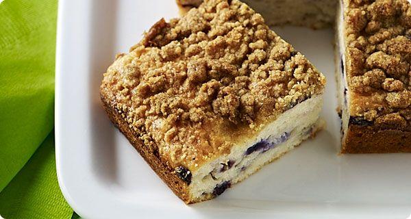 Blueberry Lemon Coffee Cake | Krusteaz | Deliciousness! Sweets | Pint ...