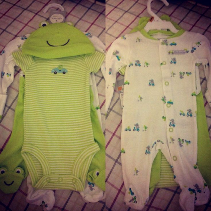 Bryson's baby clothes