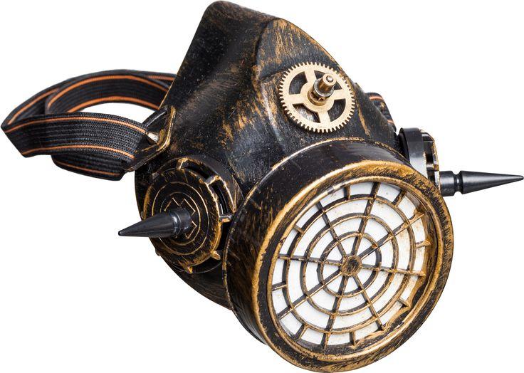 Steampunk Mundstück Atemmaske Retro Styl