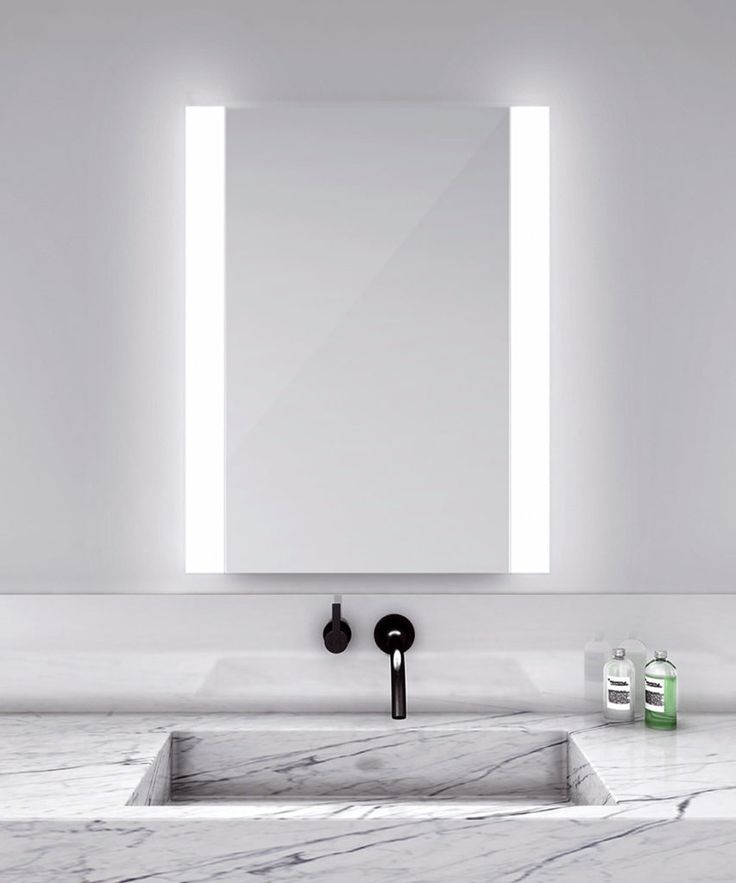 25+ best Bathroom mirror lights ideas on Pinterest