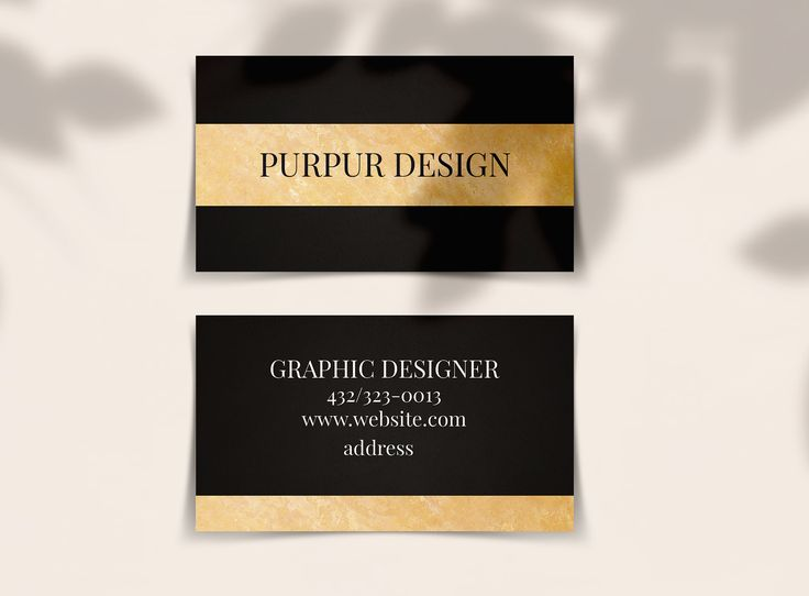 Black Gold Business Card Template Etsy In 2020 Gold Business Card Business Card Template Card Template