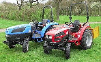 Landinni and mccormick sub compact tractors