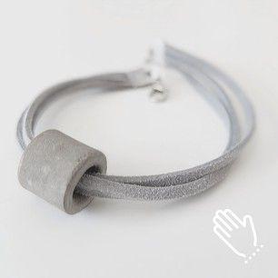 present simple a beautiful simple concrete bracelet Instagram photos @p.simple - EnjoyGram