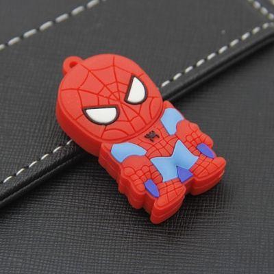 Pendrive - Spiderman, to gadżet dla każdego prawdziwego superbohatera! Nasz pendrive dzięki ogromnej pojemności 8 GB doda bezpieczeństwa psychicznego. Nie będziesz się bowiem musiał martwić, że nie pomieści wszystkich dokumentów, najlepszych zdjęć czy ulubionej muzyki.