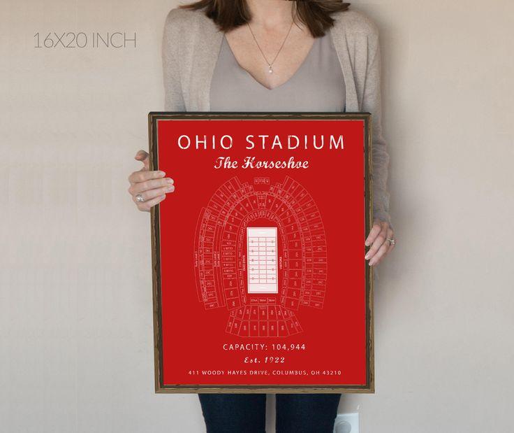 Ohio State Buckeyes Ohio Stadium Seating Chart Ohio State