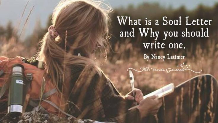 What is a Soul Letter?