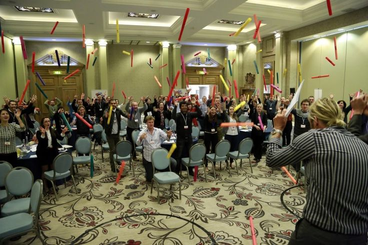 Take aim and fire at the presenter with Boom Time an infectious icebreaker that transforms any conference room into a colourful, fast-paced orchestra that is sure to get everyone engaged, enthused and energised