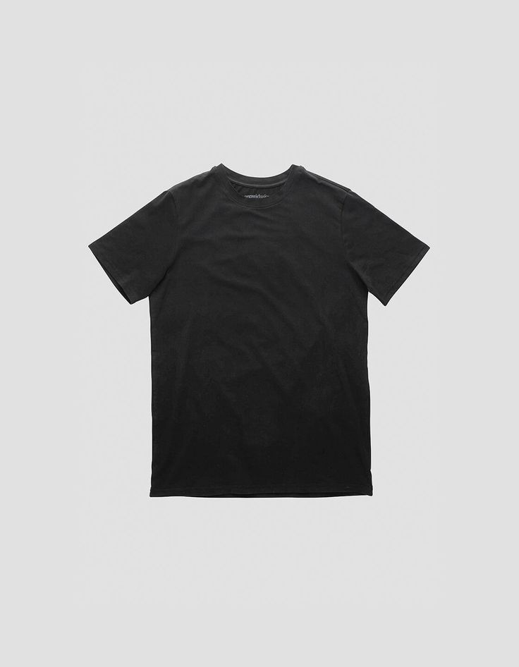 Black / White T-shirts, str: L fra Organic Basics