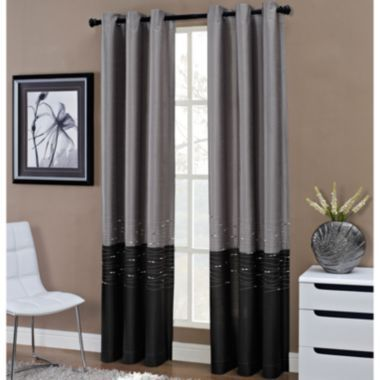Horizon grommet top curtain panel found at jcpenney for Jcpenney living room curtains