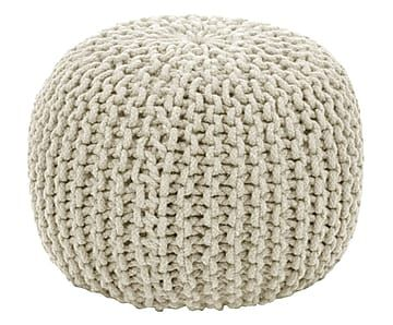 "Puf ""Knit Bowl II"", výš. 30, Ø 45 cm"