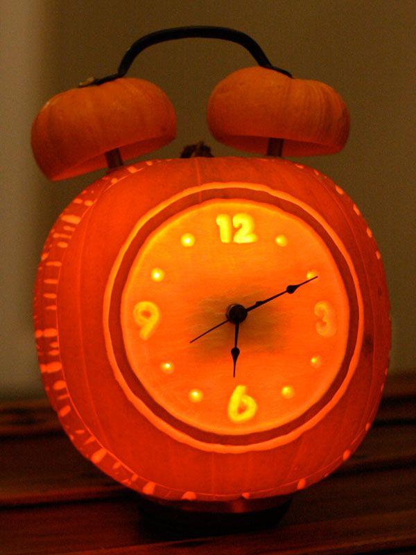 Alarm Clock Pumpkin - It works!