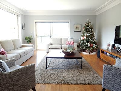 Alicia On A Sunny Day: Christmas Formal Living Room