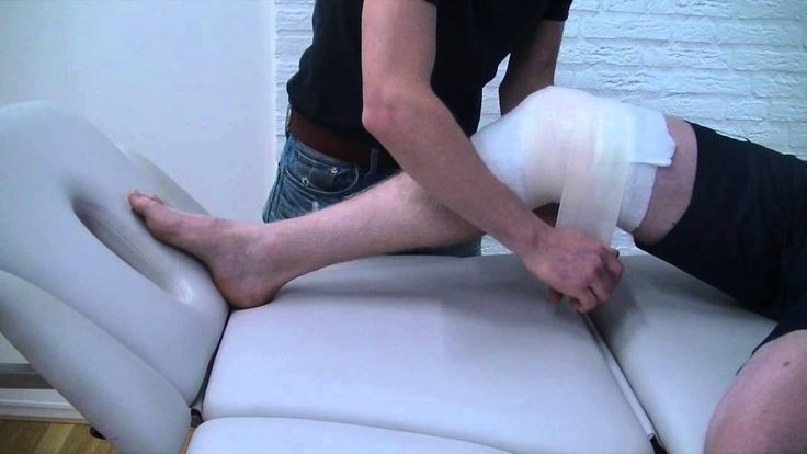 Drukverband knie