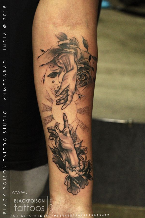 Creation of Adam Tattoo best tattoo studio in india black poison tattoo Face Tattoos, Forearm Tattoos, Body Art Tattoos, Cool Tattoos, Buddha Tattoos, Portrait Tattoos, Irezumi Tattoos, Hand Tattoo, Tattoo Pain