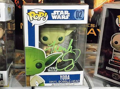 Frank Oz Autographed Star Wars Funko Pop Figure Signed (Yoda) in Collectibles, Autographs, Celebrities | eBay