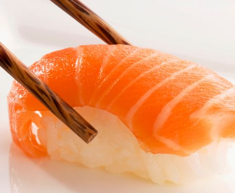 Hug the Sashimi with your chop sticks. Dip it in tangy soy sauce and taste the slightly acidic flavour be soothed by the almost creamy salmon texture as the salmon and rice just melt in your mouth. Awaken your Senses.