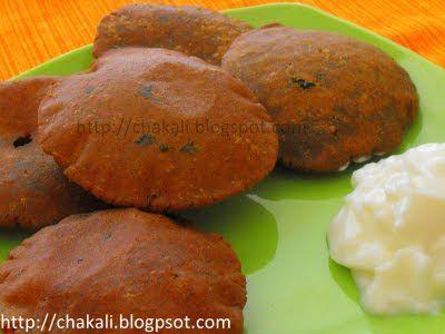 bhajaniche vade, bhajani wade, thalipith bhajani, maharashtrian snacks