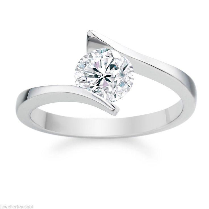 Diamantring weißgold günstig  Die besten 10+ Reinheitsringe Ideen auf Pinterest | Rebe Ehering ...